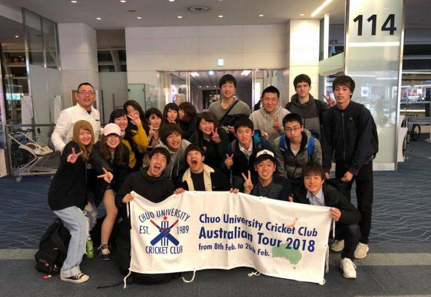 オーストラリア遠征出発2