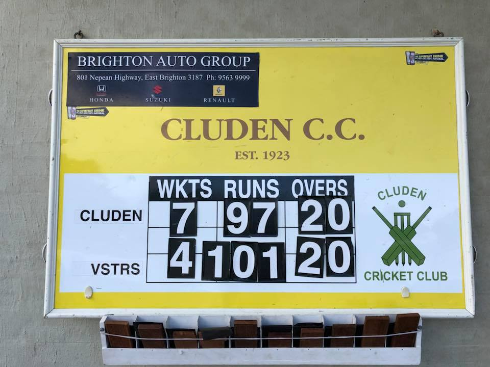 Cluden Cricket Club女子勝利_2