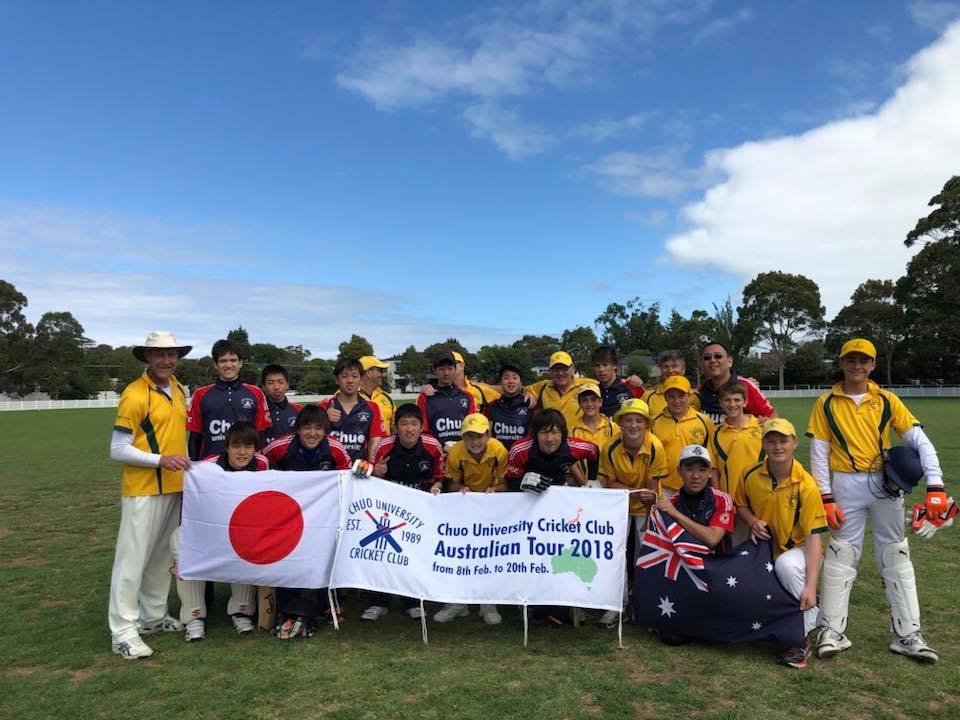 Cluden Cricket Club女子勝利_3