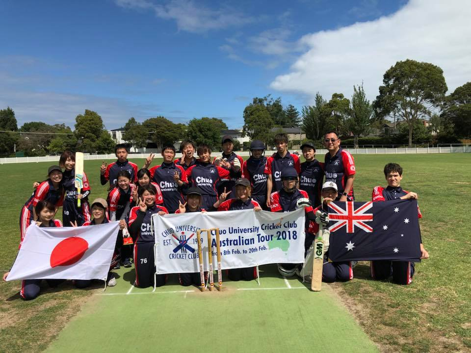 Cluden Cricket Club女子勝利