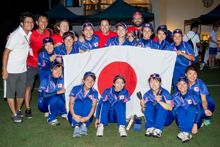 ICC女子東アジア太平洋予選大会に出場する女子日本代表チームの発表